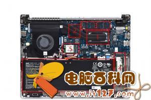 Acer新蜂鸟Swift 3拆机简析